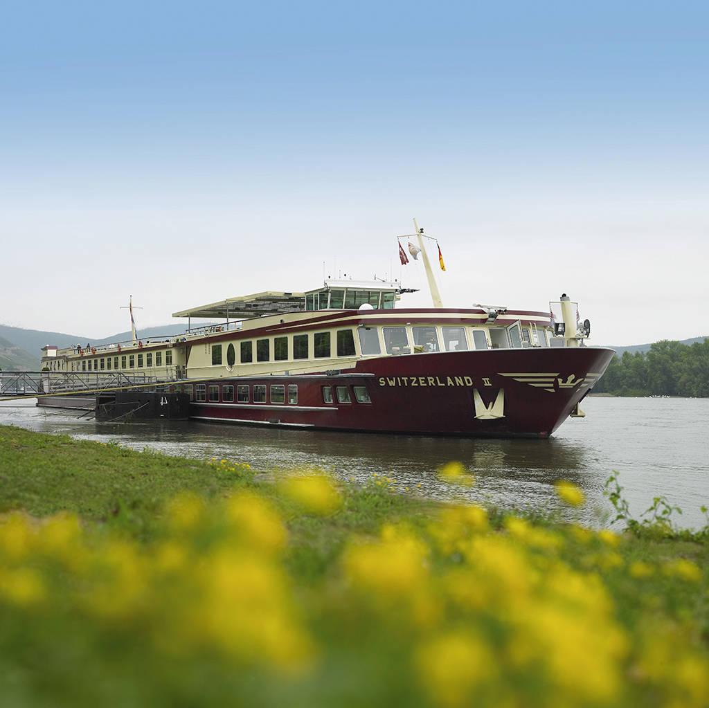 6-daagse riviercruise met ms Switzerland II Nederland op z'n mooist