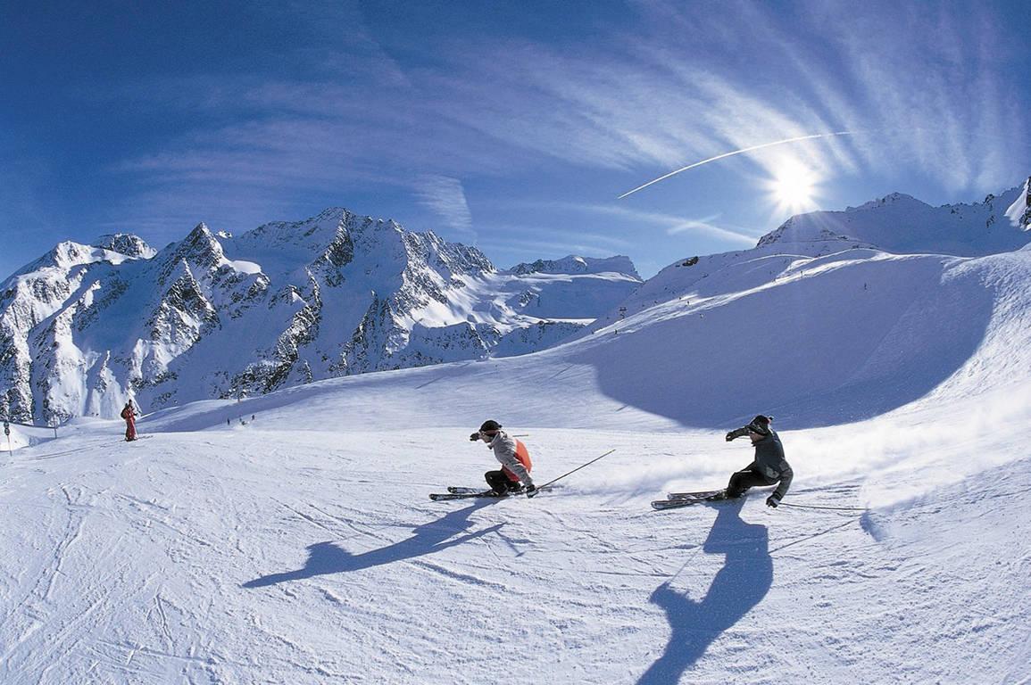 Vakantie Jungfrauregion Zwitserland - skiers