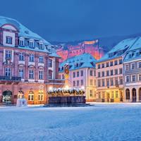 5-daagse busreis Kerst nabij Historisch Heidelberg