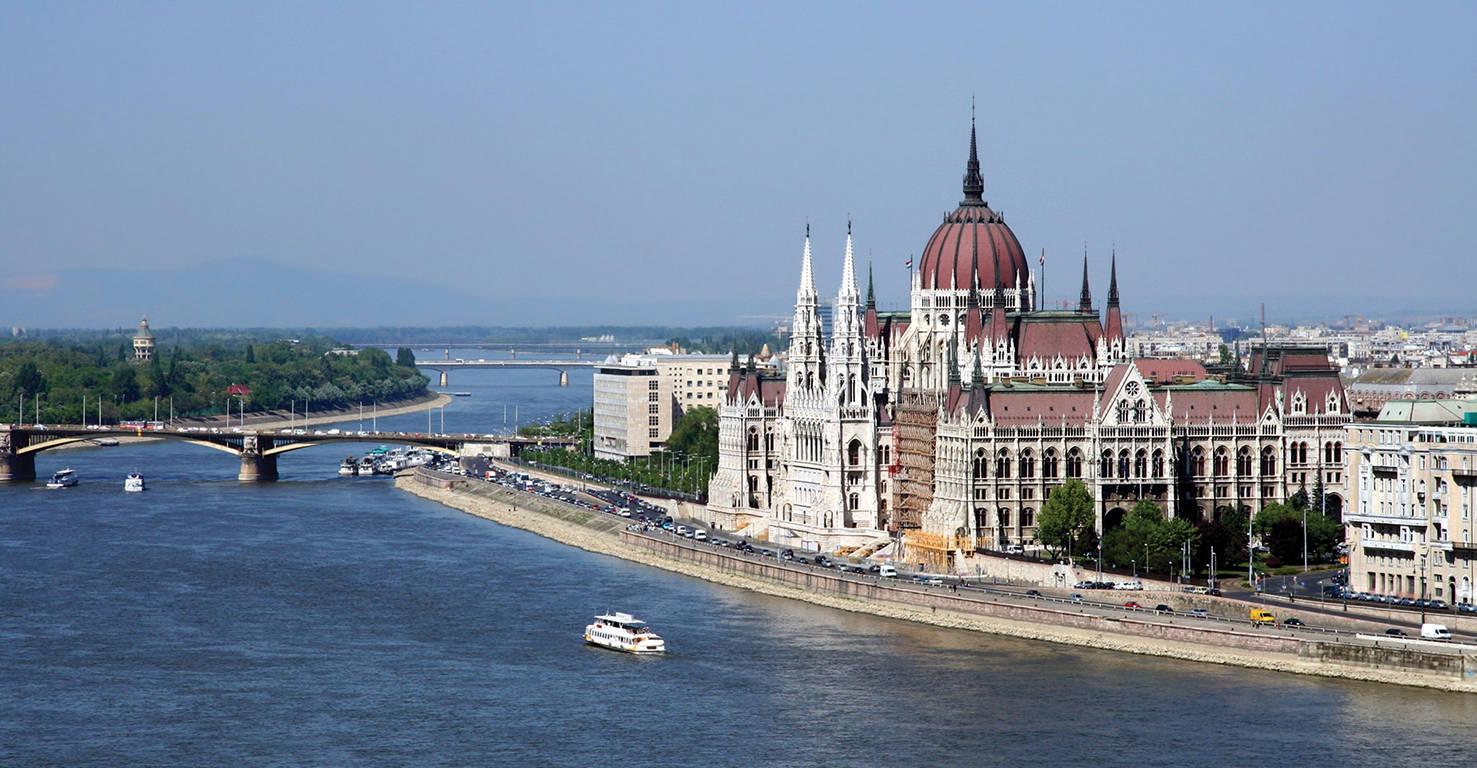 Budapest met de Donau