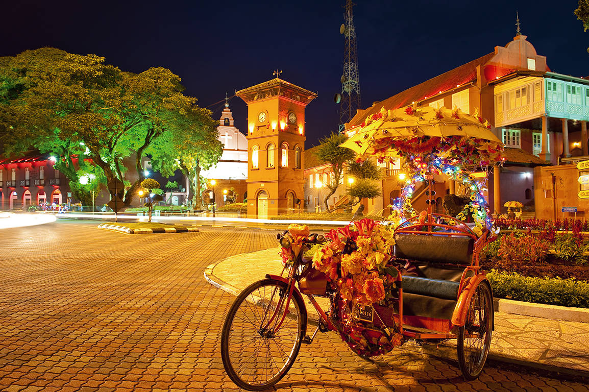 Riksja in Malacca