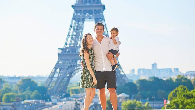 Parijs met het gezin