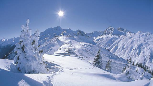 Wintersportchalets Italië