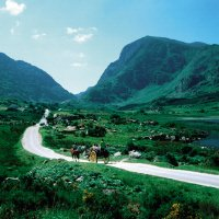 Gap of Dunloe Jaunting car