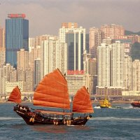 VGCI428 1415   Ek Fascinerend China Grr Hong Kong Traditionele Jonk Vierkant